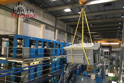 Transportation of Heavy Industrial Machinery Company